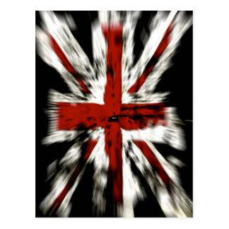 cool British flag Postcard