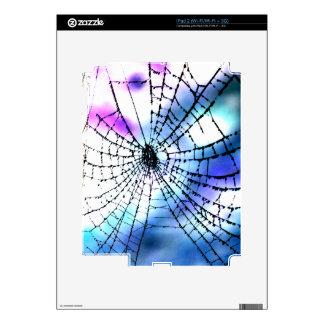 Cool Bro Grunge Goth Gothic Punk Spider's Web Dark iPad 2 Skins