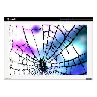 Cool Bro Grunge Goth Gothic Punk Spider's Web Dark Skins For Laptops