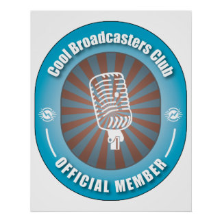 Cool Broadcasters Club Print