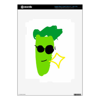 Cool Broccoli Decals For iPad 3