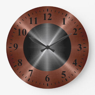 Bronze Wall Clocks Zazzle
