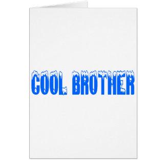 Cool Brother (Blu) Card