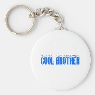 Cool Brother (Blu) Keychain