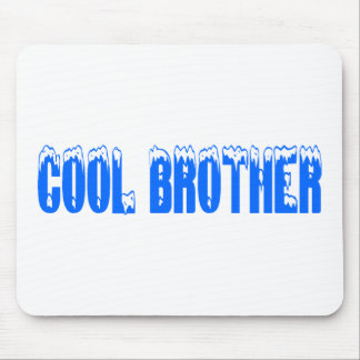 Cool Brother (Blu) Mouse Pads