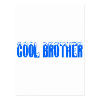 Cool Brother (Blu) Postcard