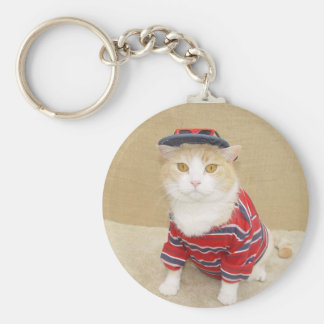Cool Bubba Basic Round Button Keychain