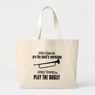 Cool Bugle designs Canvas Bags