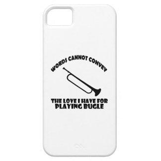 cool bugle designs iPhone SE/5/5s case