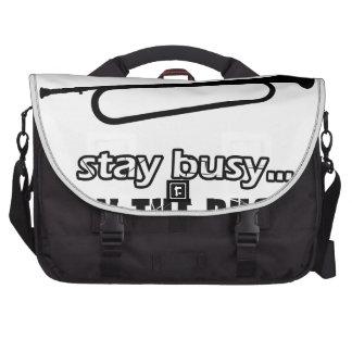 Cool Bugle designs Computer Bag