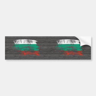 Cool Bulgarian flag design Car Bumper Sticker