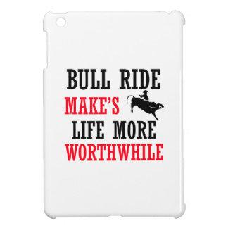 cool bull ride design iPad mini cover