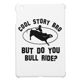 cool bull riding deigns cover for the iPad mini
