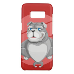 Case-Mate Barely There for Samsung Galaxy S8 Case with Bulldog Phone Cases design