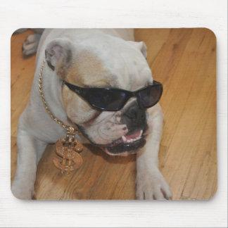 Cool Bulldog (Tank) Mousepad