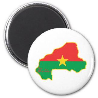 Cool Burkina Faso Refrigerator Magnets