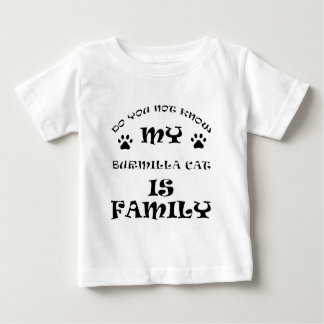 Cool burmilla CAT designs Baby T-Shirt