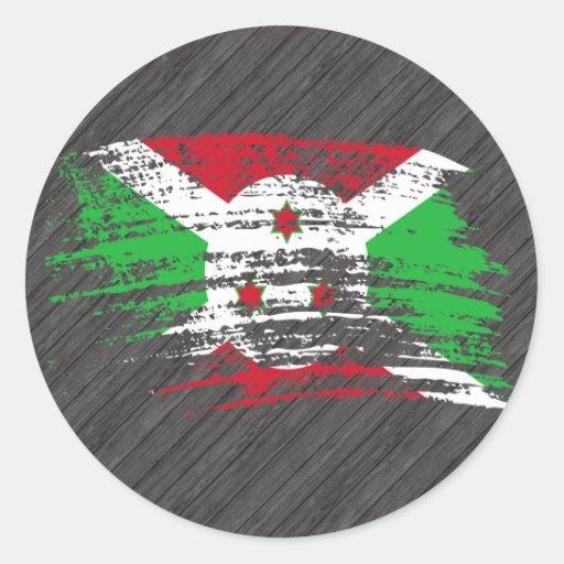 Cool Burundian flag design Sticker