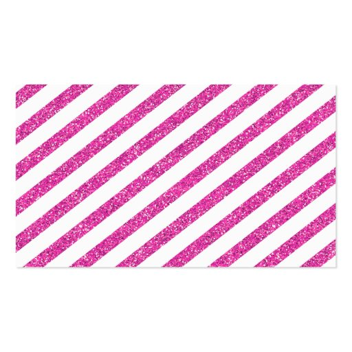 COOL BUSINESS CARD bold spot pink glitter effect (back side)