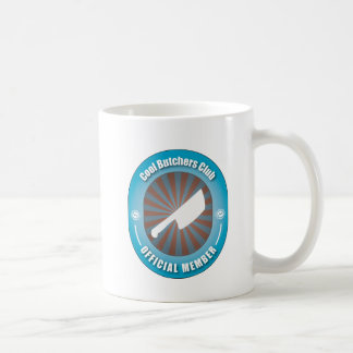 Cool Butchers Club Classic White Coffee Mug