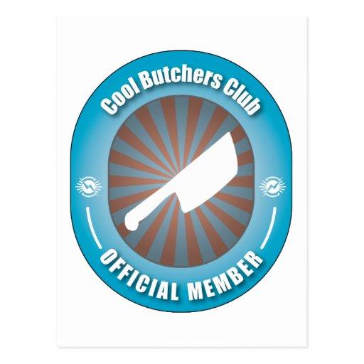 Cool Butchers Club Postcard