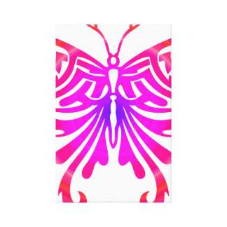 Cool Butterfly Stretched Canvas Print