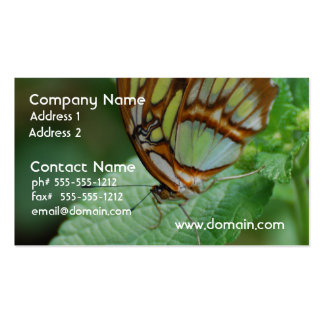 Cool Butterfly Double-Sided Standard Business Cards (Pack Of 100)