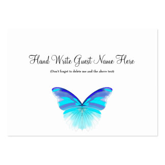 Cool Butterfly - Place Cards Business Cards