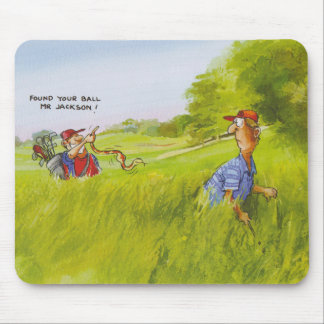 cool caddie mouse pad
