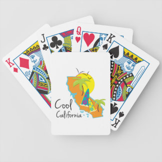 Cool California Bicycle Playing Cards