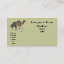 Cool Camels Business Card