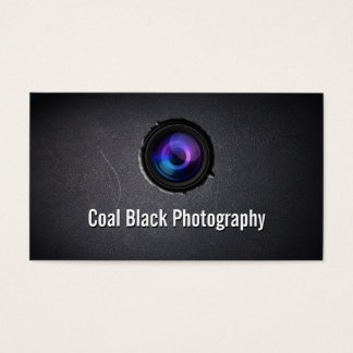 Cool Camera Lens Embed Photography Business Card