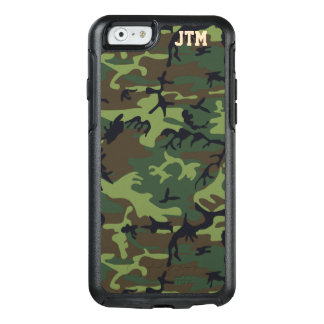 Cool Camouflage Camo Personalized Monogram OtterBox iPhone 6/6s Case