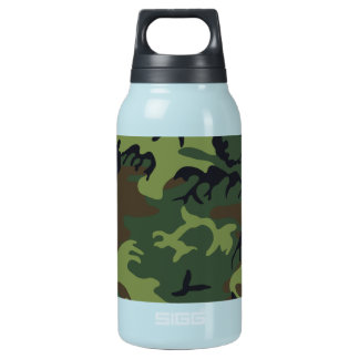 cool camouflage image effect insulated water bottle