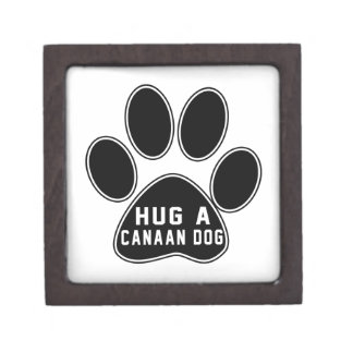 Cool Canaan Dog Designs Premium Gift Boxes