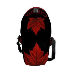Cool Canada Bags Canada Souvenir Messenger Bag