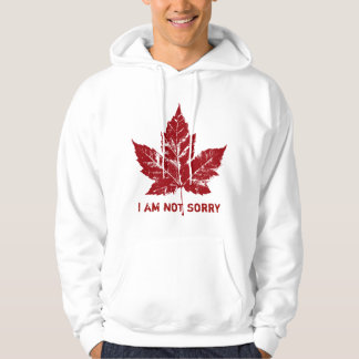 Cool Canada Hoodie Retro I Am Not Sorry Canada Top