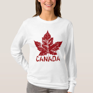 Cool Canada Hoodie Retro Maple Leaf Souvenir