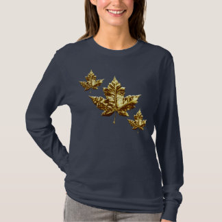 Cool Canada Hoodie Women's Gold Canada Hoodie