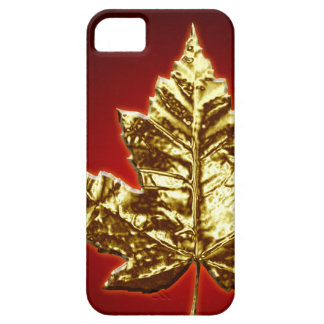 Cool Canada IPhone 5 Case Gold Canada Leaf Gifts