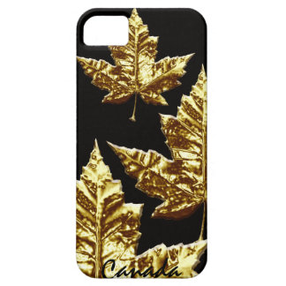 Cool Canada IPhone 5 Case Gold Canada Medal Gift