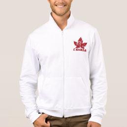 Cool Canada Jacket Men's Retro Canada Souvenir