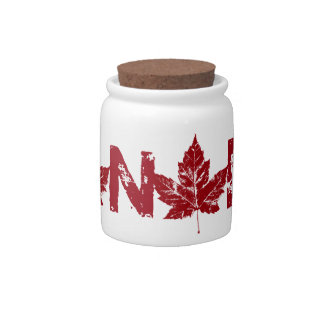 Cool Canada Jar Canada Souvenir Candy Jar