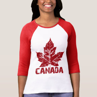 Cool Canada Jersey Retro Maple Leaf Souvenir T-Shirt