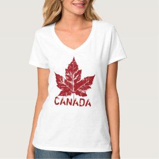 Cool Canada T-shirt Retro Womens Canada Souvenir