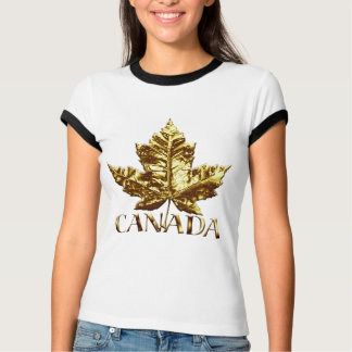 Cool Canada T-shirt  Womens Maple Leaf Souvenir