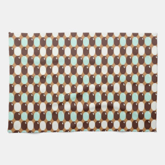 Cool candy chocolate mint kitchen towel