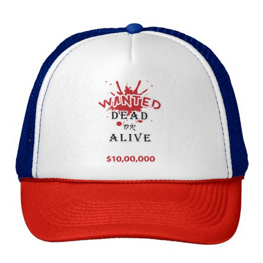cool cap dead or alive trucker hat zazzle