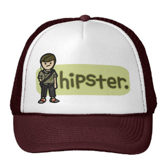 cool cap hipster hat. trucker hat