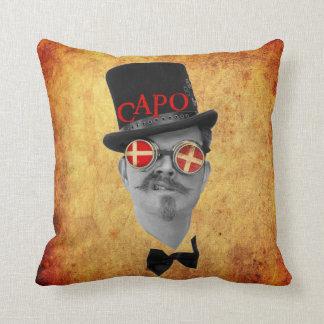 Cool Capo Pillow! Throw Pillow